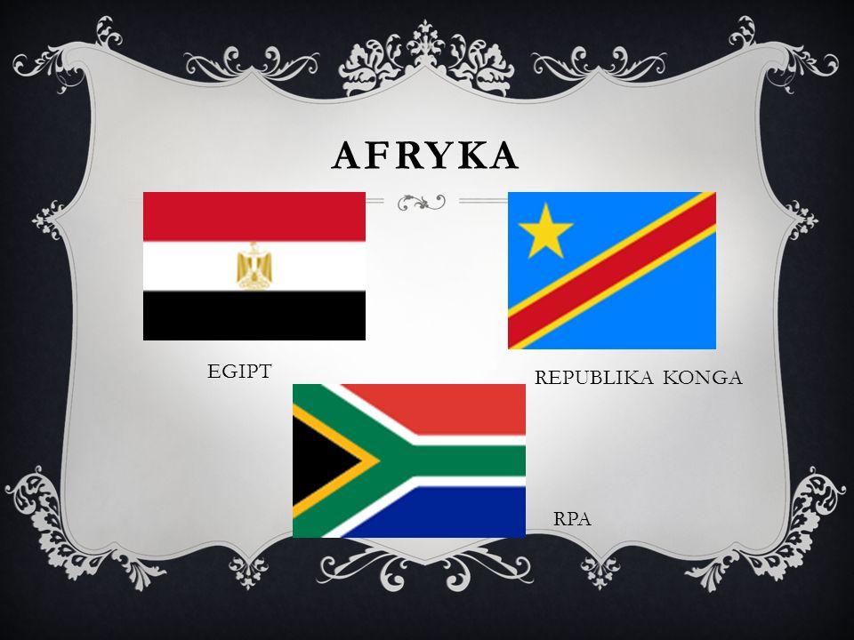 AFRYKA EGIPT RPA REPUBLIKA KONGA