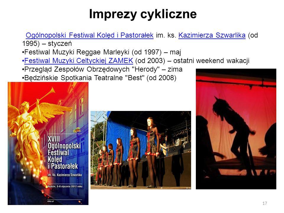 Imprezy cykliczne Ogólnopolski Festiwal Kolęd i Pastorałek im. ks. Kazimierza Szwarlika (od 1995) – styczeńOgólnopolski Festiwal Kolęd i PastorałekKaz