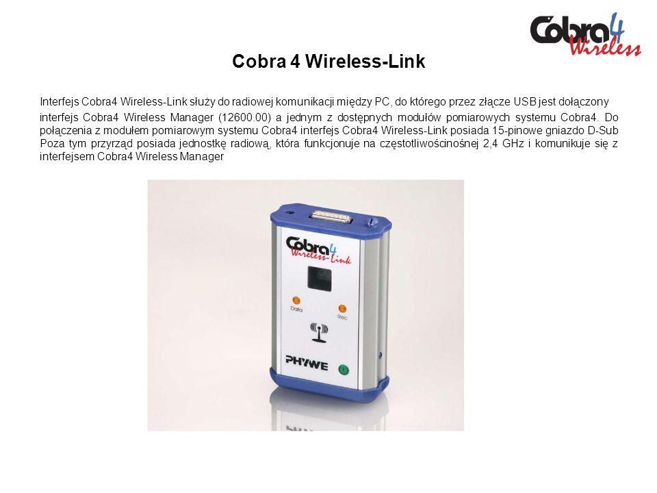 Ćwiczenia wykonywane przy pomocy modułu pomiarowego interfejsu Cobra4 Przyspieszenie 3D, ±2g, ±6g Pomiar przyspieszenia54 Przykłady instrukcji ćwiczeniowych