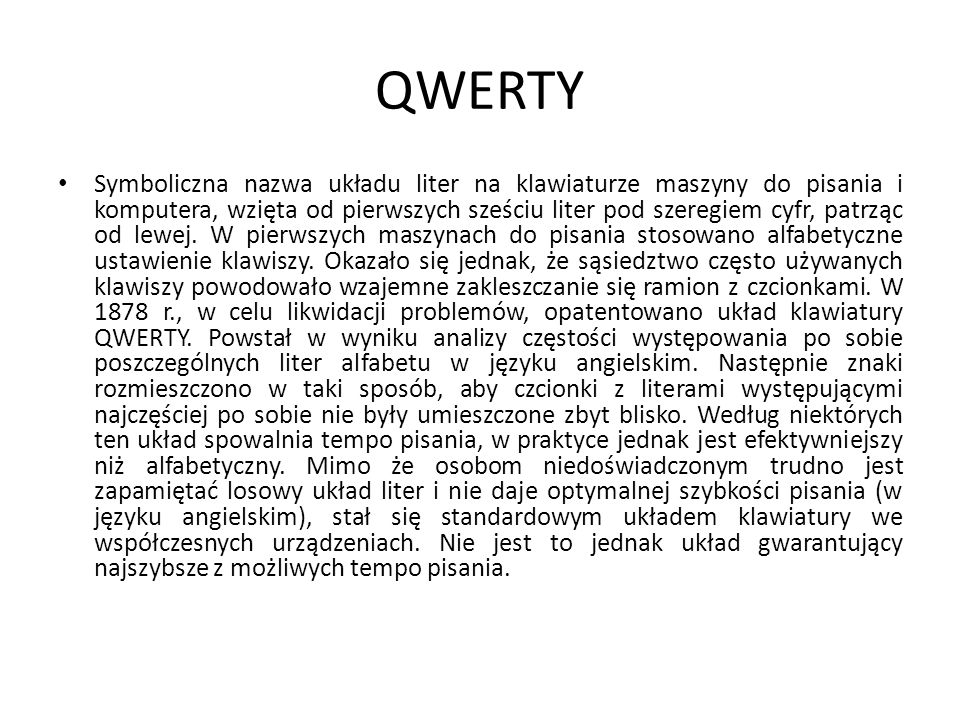 Polski (programisty) Polskie znaki diakrytyczne (ą, ć, ę, ł, ń, ó, ś, ż, ź) uzyskuje się zazwyczaj poprzez równoczesne wciśnięcie klawisza Alt i litery podobnej do znaku (np.