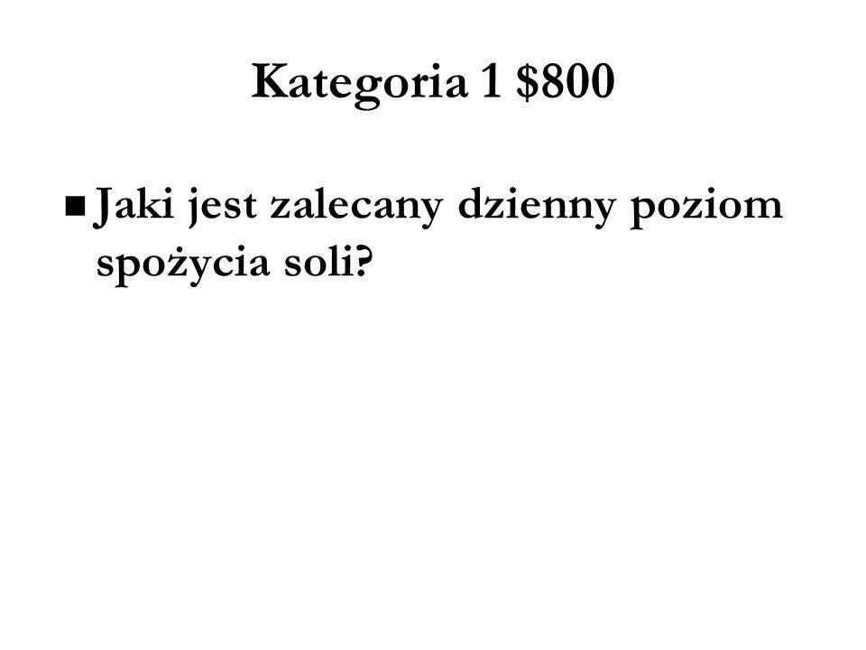Kategoria 3 $800 Wyjaśnij znaczenie każdej litery z pięciu A w strategii określanej jako 5A (lub P w wersji polskojęzycznej) pomagającej pacjentom rzucić palenie.
