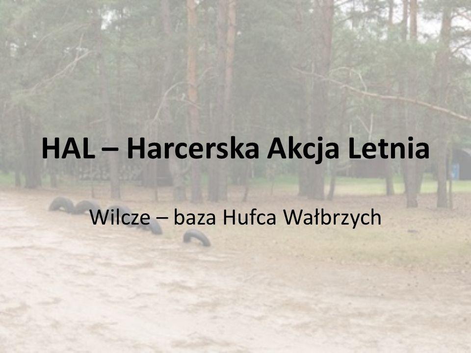 HAL – Harcerska Akcja Letnia Wilcze – baza Hufca Wałbrzych