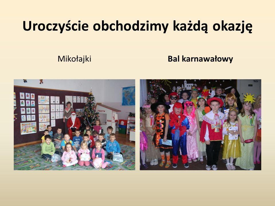 Uroczyście obchodzimy każdą okazję MikołajkiBal karnawałowy