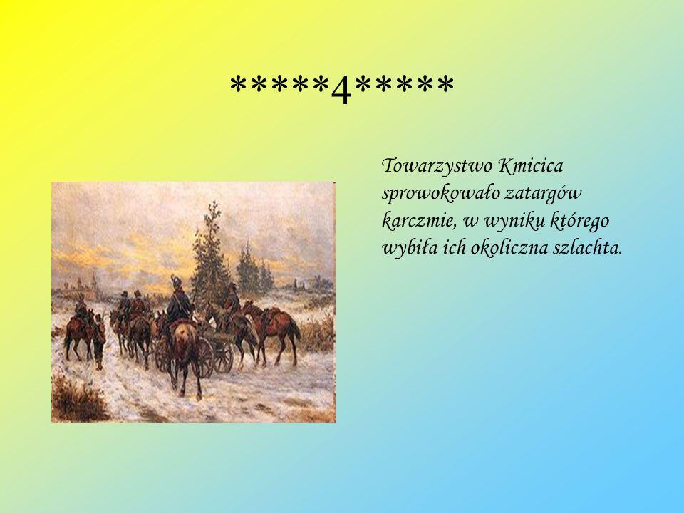 *****5***** Kmicic z zemsty podpala domy Butrymów, mieszkańców Wołomontowicz, a ich samych morduje.