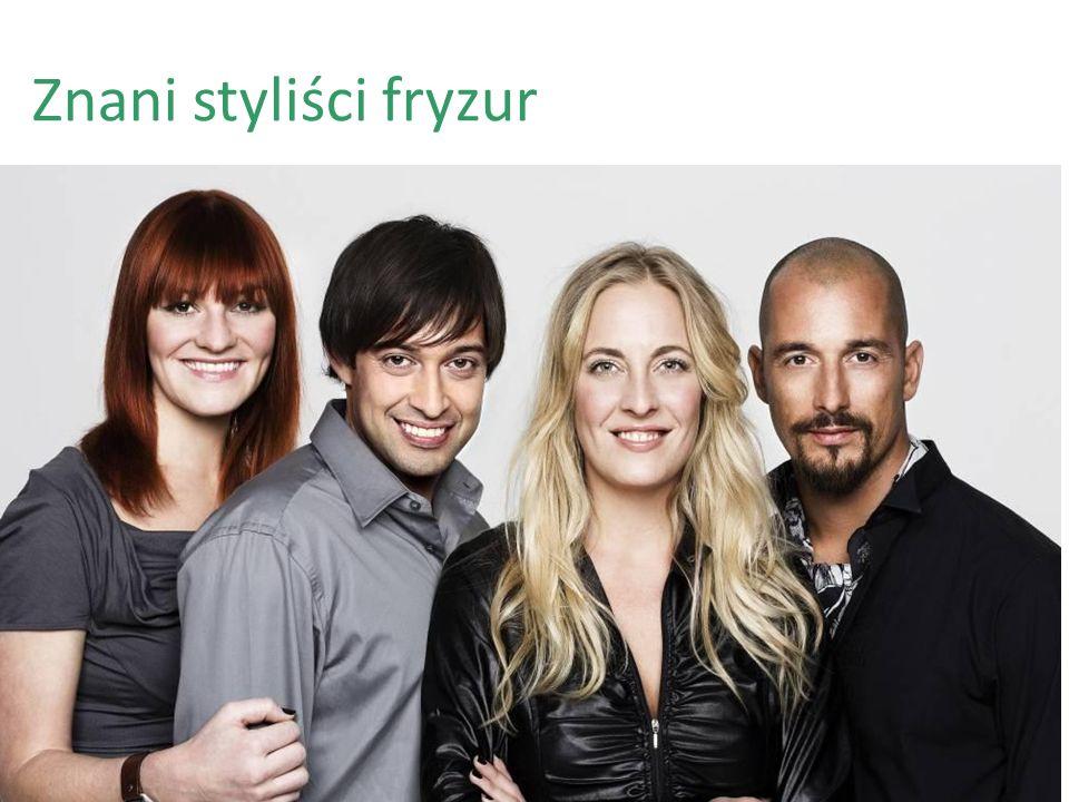Znani styliści fryzur