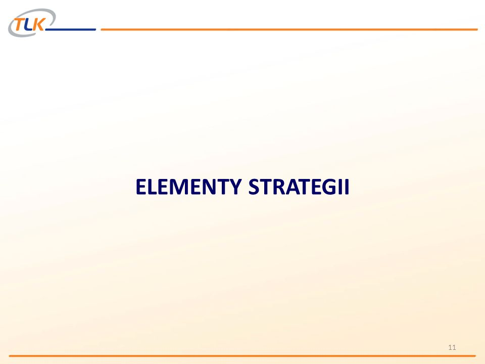 ELEMENTY STRATEGII 11