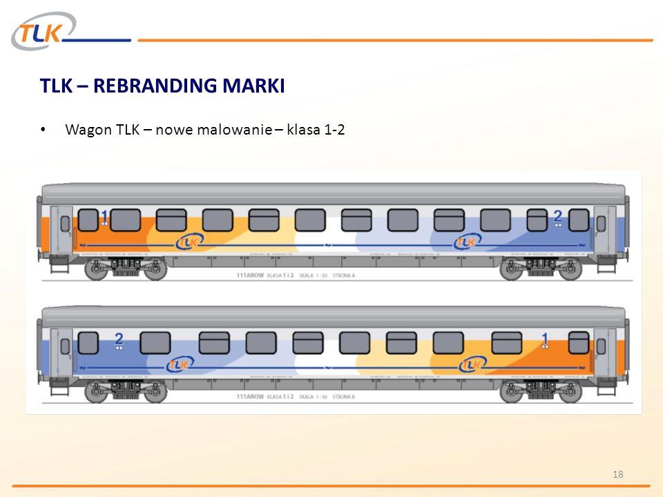 TLK – REBRANDING MARKI Wagon TLK – nowe malowanie – klasa 1-2 18