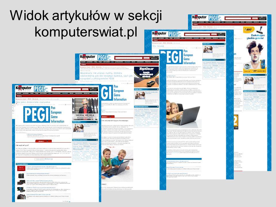 Widok artykułów w sekcji komputerswiat.pl
