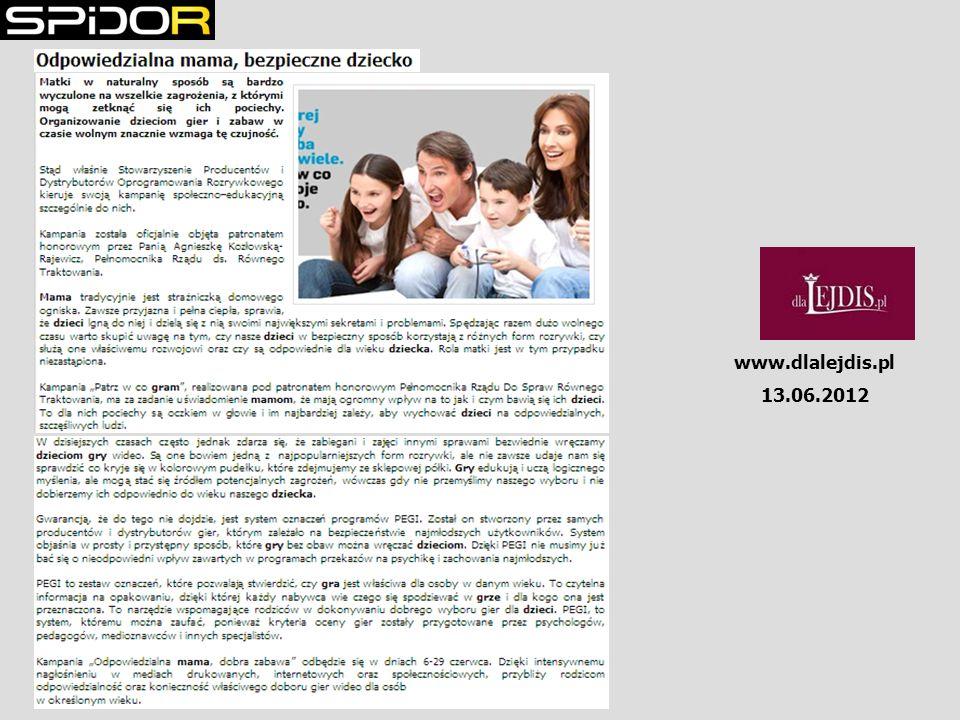 www.dlalejdis.pl 13.06.2012