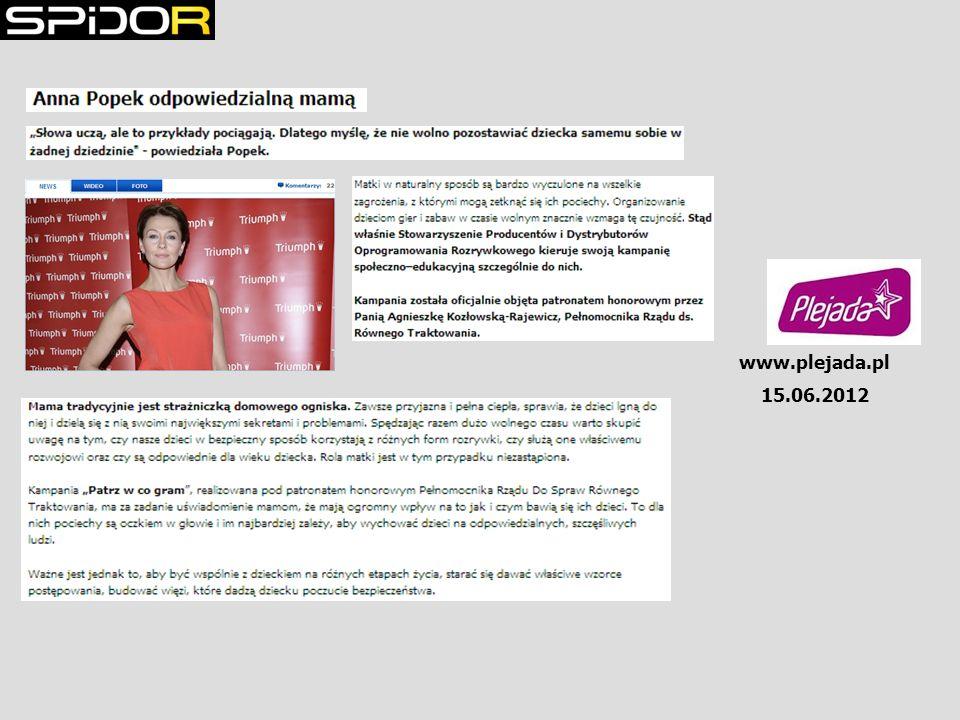 www.plejada.pl 15.06.2012