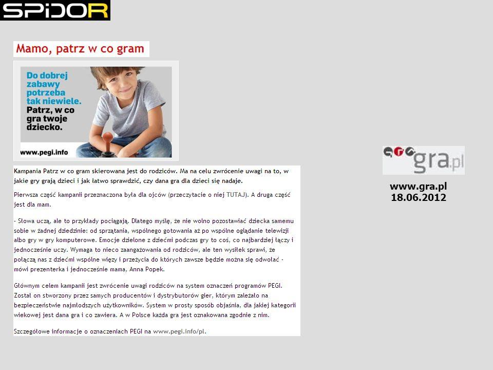 www.gra.pl 18.06.2012