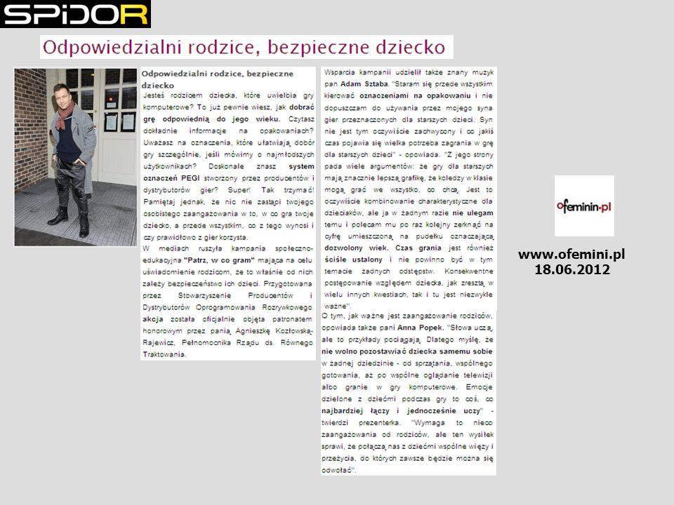 www.ofemini.pl 18.06.2012
