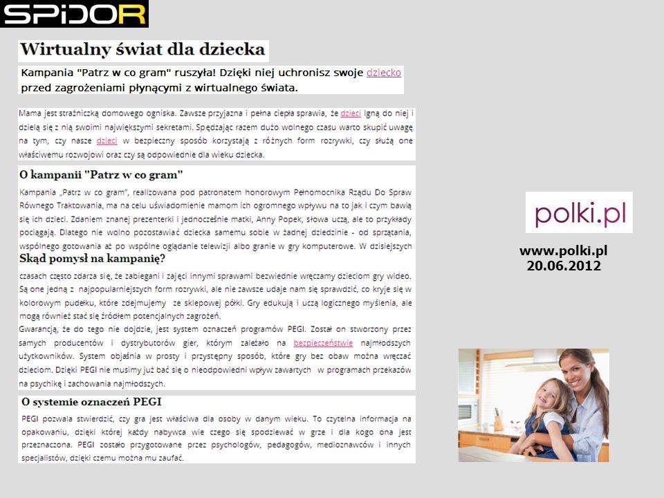 www.polki.pl 20.06.2012