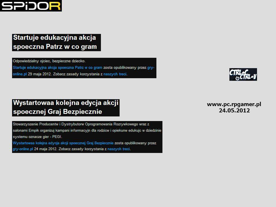 www.pc.rpgamer.pl 24.05.2012