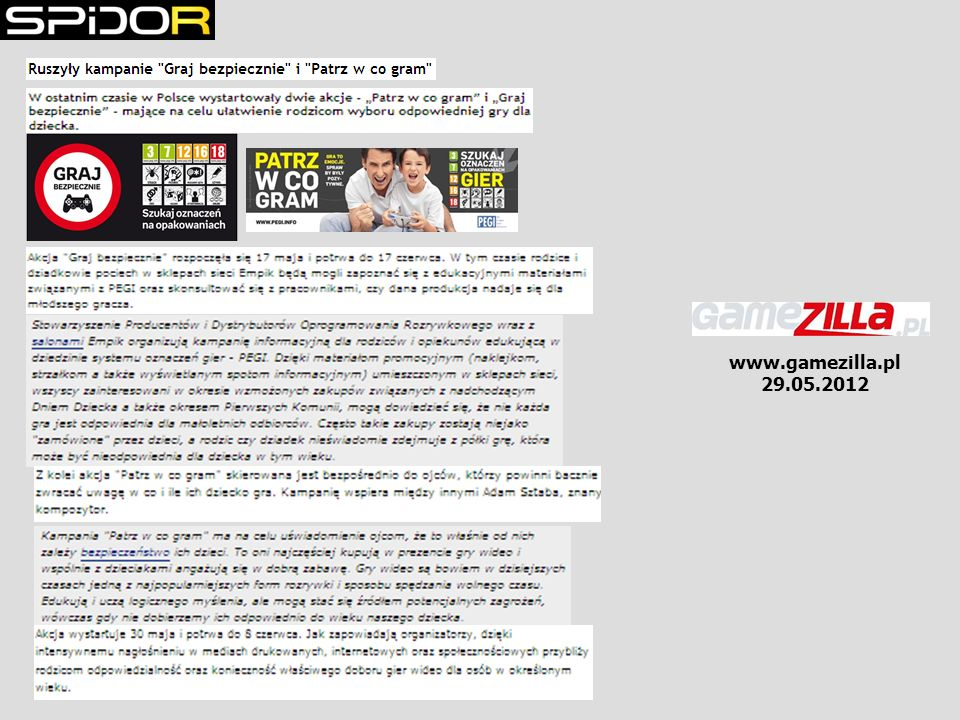 www.gamezilla.pl 29.05.2012