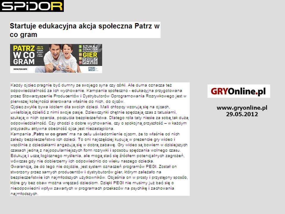 www.gryonline.pl 29.05.2012