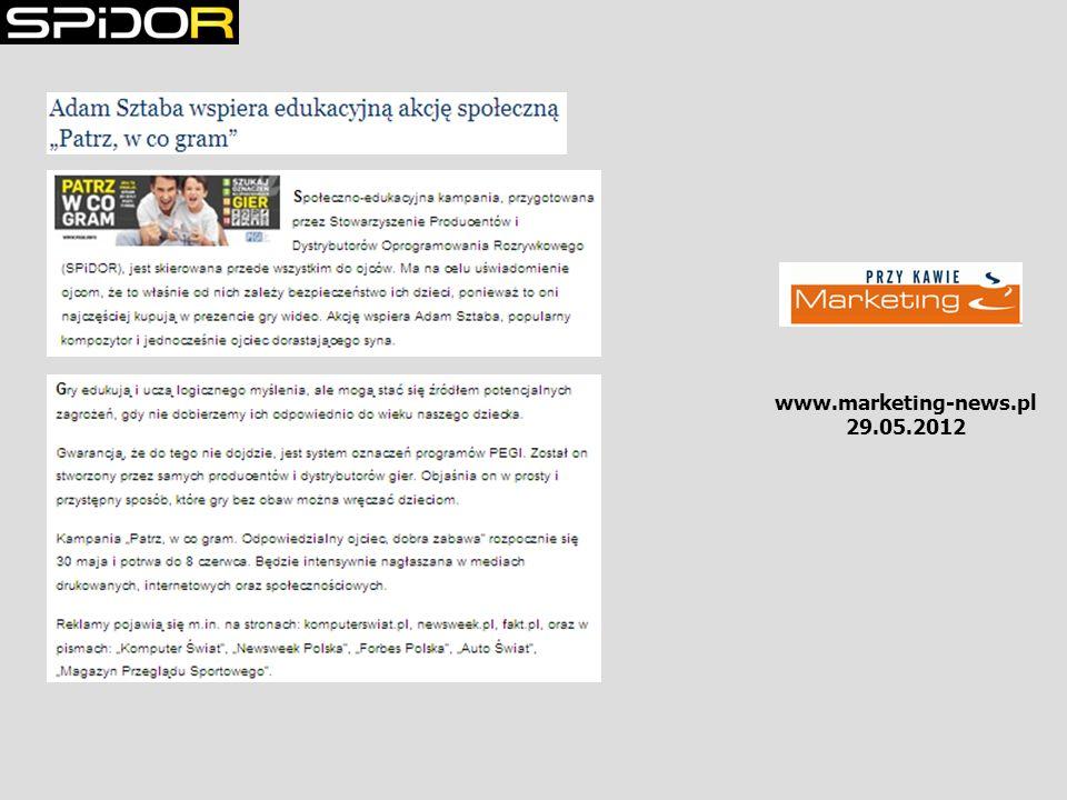 www.marketing-news.pl 29.05.2012