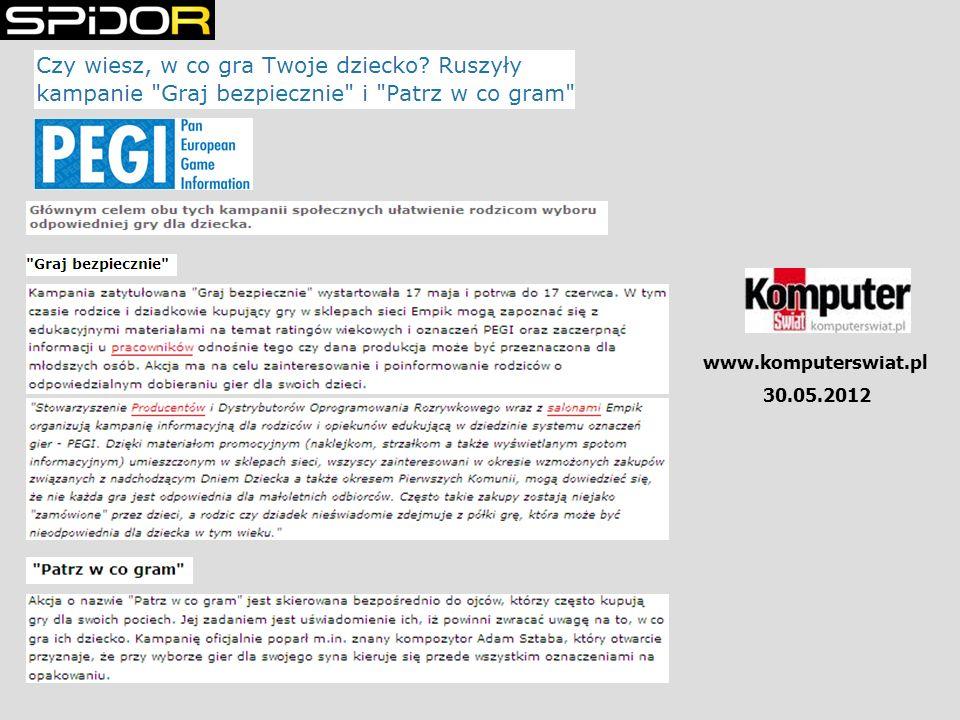 www.komputerswiat.pl 30.05.2012