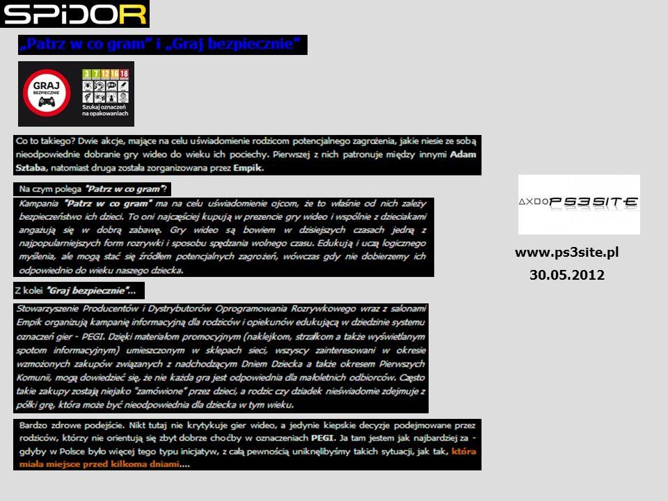www.ps3site.pl 30.05.2012