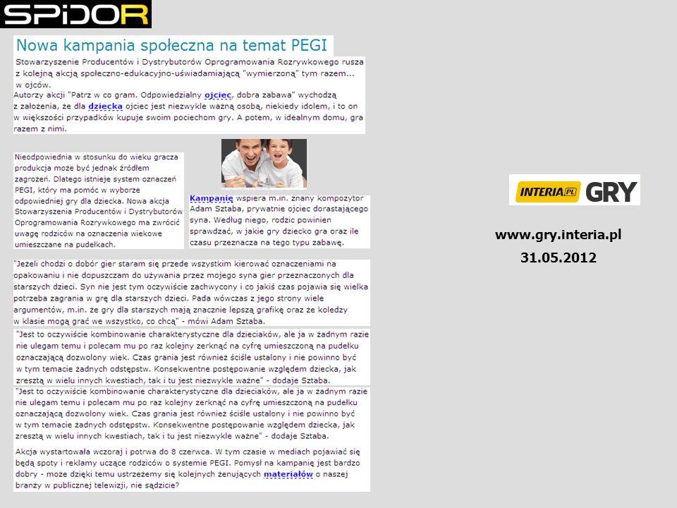 www.gry.interia.pl 31.05.2012