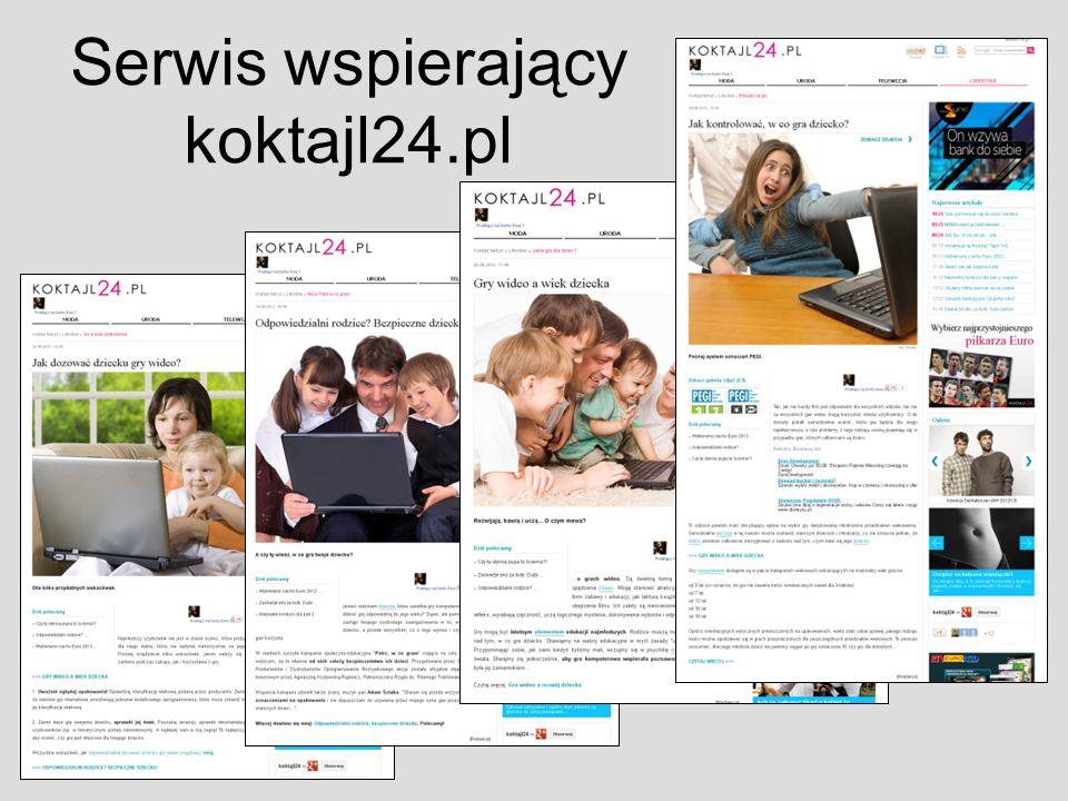 Serwis wspierający koktajl24.pl