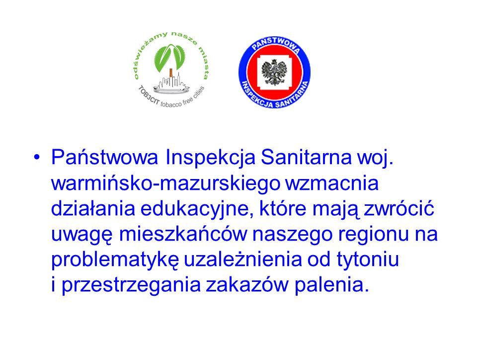 Państwowa Inspekcja Sanitarna woj. warmińsko-mazurskiego wzmacnia działania edukacyjne, które mają zwrócić uwagę mieszkańców naszego regionu na proble