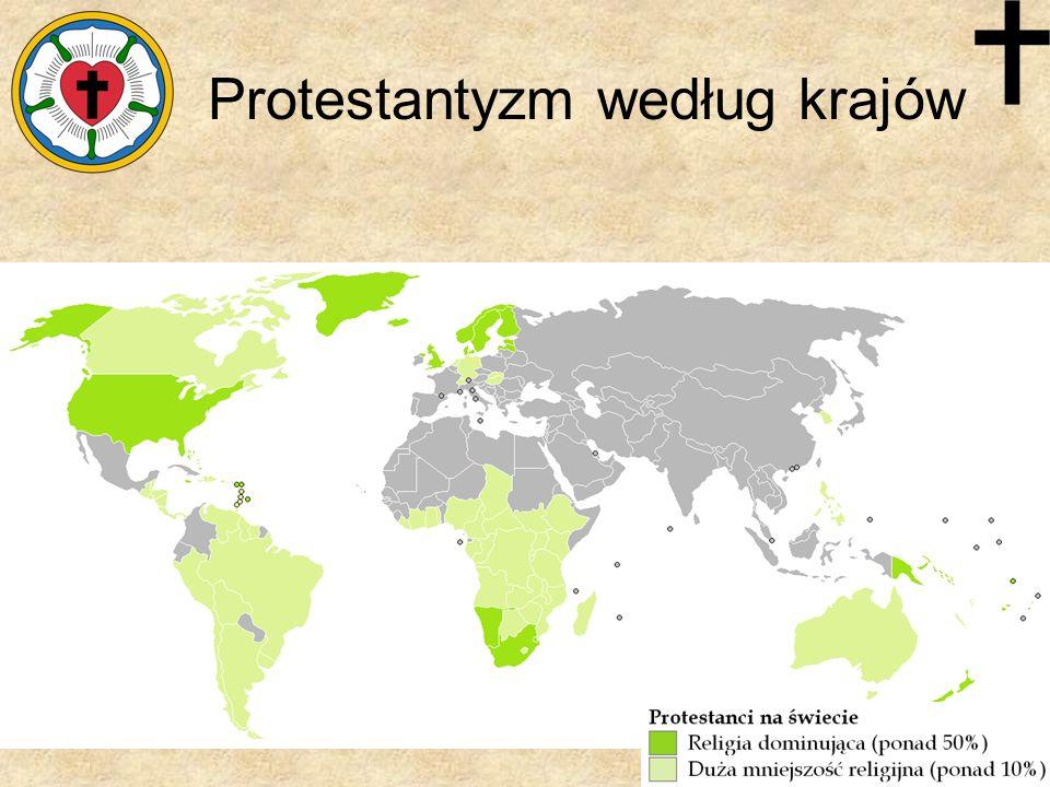 Protestantyzm według krajów