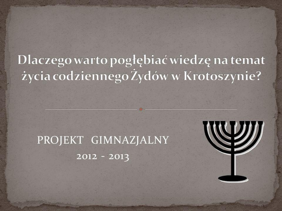 Upowszechnianie wiedzy o historii, tradycji i kulturze żydowskiej.