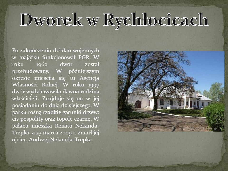 Po zakończeniu działań wojennych w majątku funkcjonował PGR. W roku 1960 dwór został przebudowany. W późniejszym okresie mieściła się tu Agencja Własn