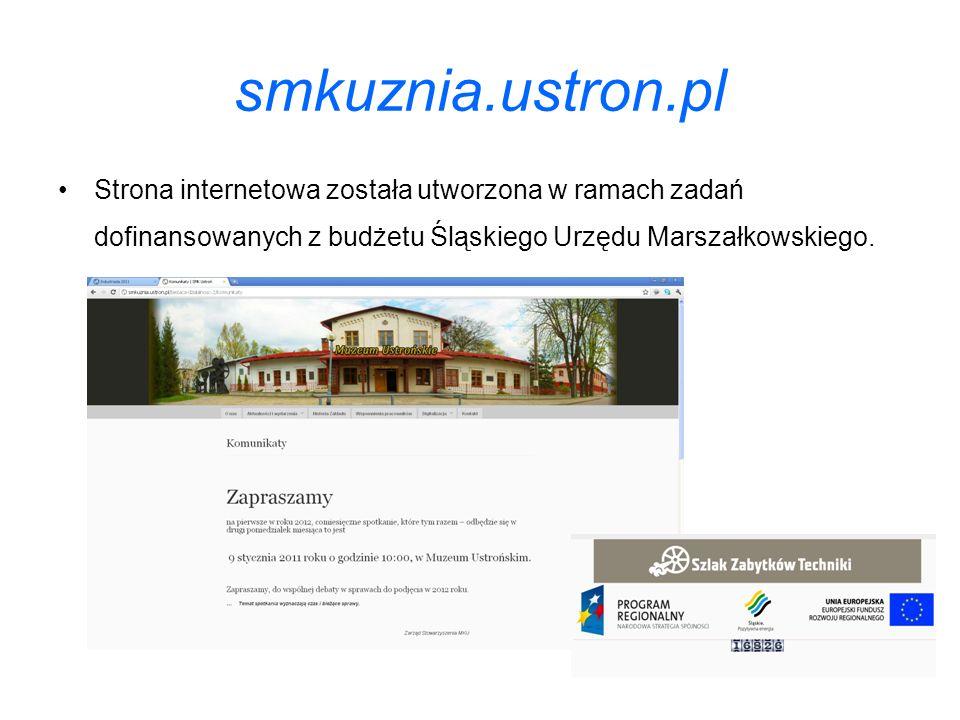 smkuznia.ustron.pl Strona internetowa została utworzona w ramach zadań dofinansowanych z budżetu Śląskiego Urzędu Marszałkowskiego.