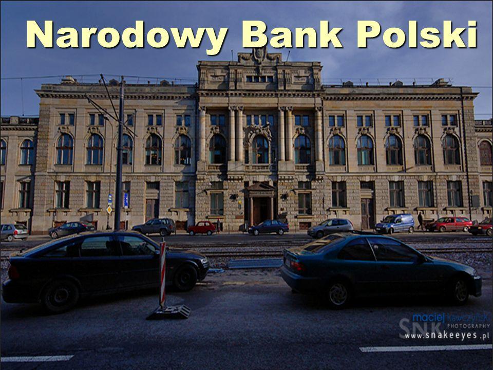 (oficjalny skrót NBP) - polski bank centralny z siedzibą w Warszawie.