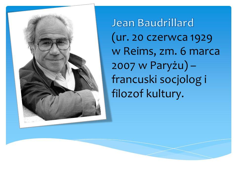 Był jednym z inicjatorów nurtu postmodernistycznego w teorii społecznej oraz radykalnym krytykiem globalizacji, współczesnego społeczeństwa i kultury.