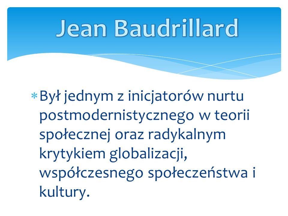 Baudrillard urodził się w Reims, w północno-wschodniej Francji, 29 lipca 1929 roku.