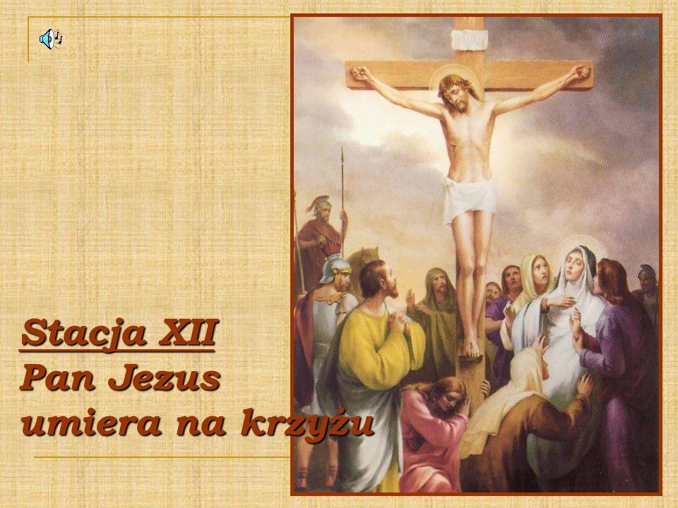 Stacja XII Pan Jezus umiera na krzyżu