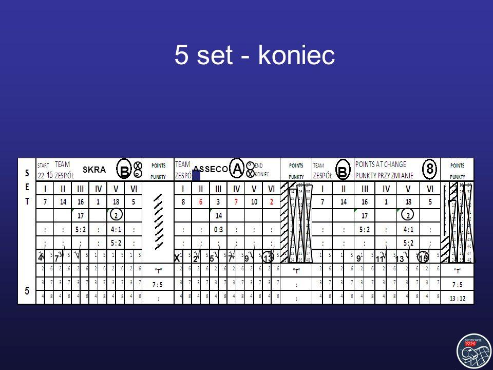 SKRA ASSECO B B A8 4 7 2 5 R S 997 1113 1513 X X X 5 set - koniec