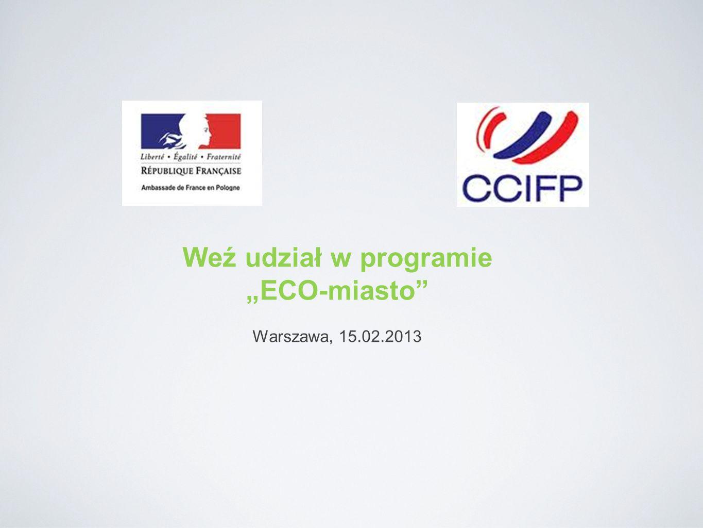 Weź udział w programie ECO-miasto Warszawa, 15.02.2013