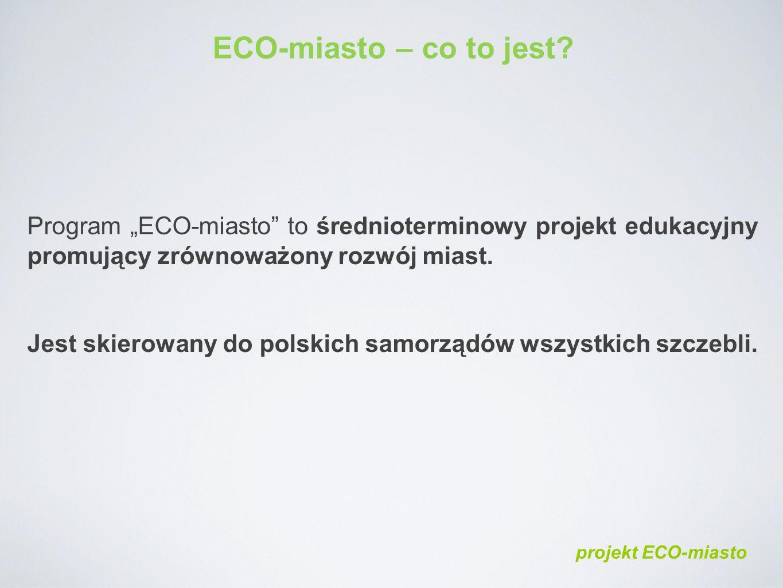 ECO-miasto – co to jest.