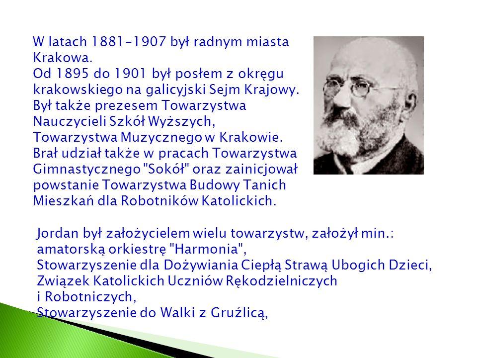 W latach 1881-1907 był radnym miasta Krakowa. Od 1895 do 1901 był posłem z okręgu krakowskiego na galicyjski Sejm Krajowy. Był także prezesem Towarzys
