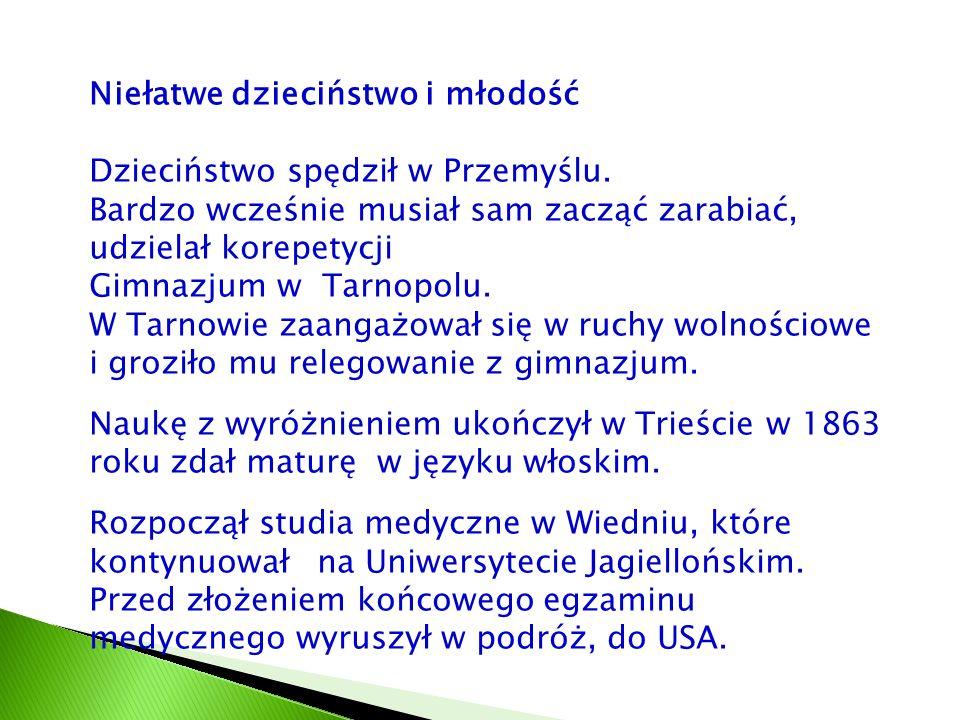 Park Jordanowski to również kolebka pierwszego przysposobie- nia wojskowego młodzieży polskiej pod zaborami, szkoła patriotyzmu.