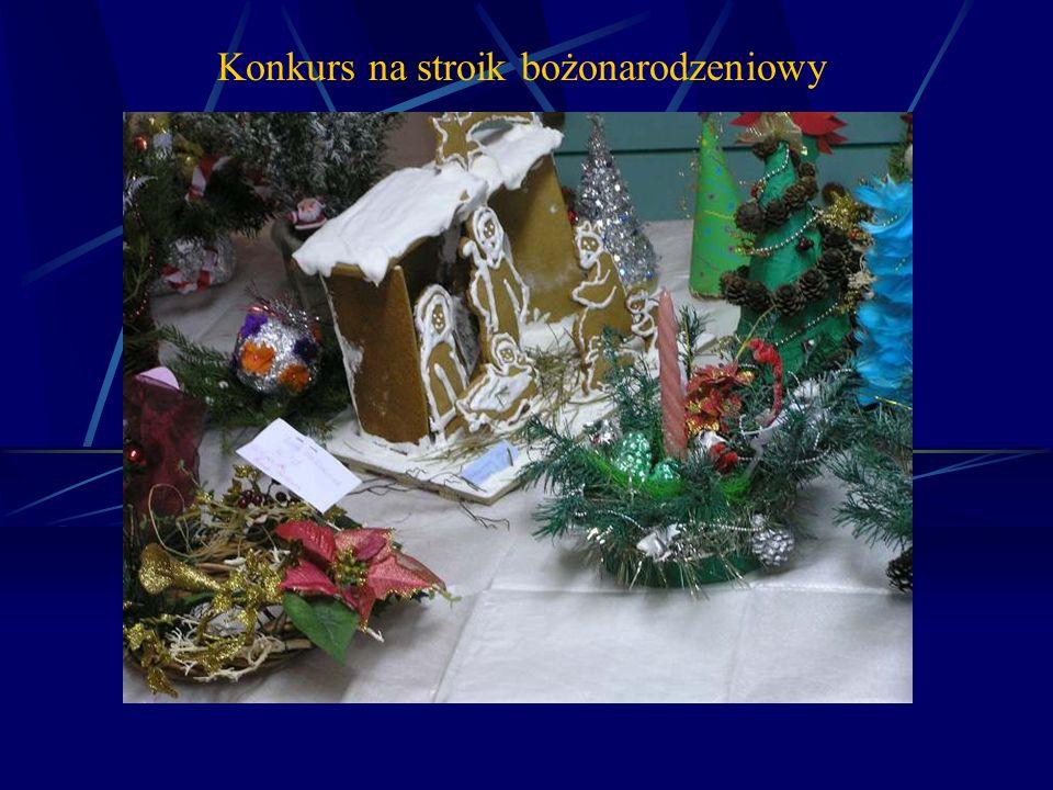 Konkurs na stroik bożonarodzeniowy