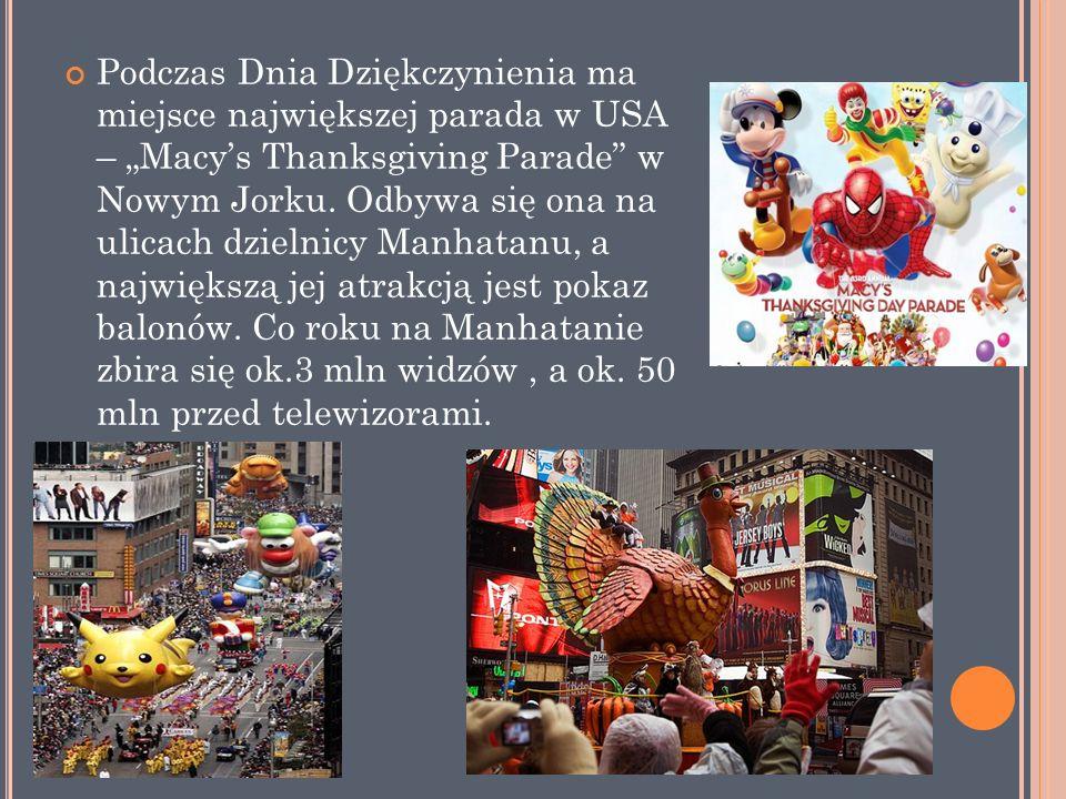 W Stanach Zjednoczonych przyjął się także zwyczaj, iż dzień przed Świętem Dziękczynienia urzędująca głowa państwa ułaskawia świątecznego indyka.