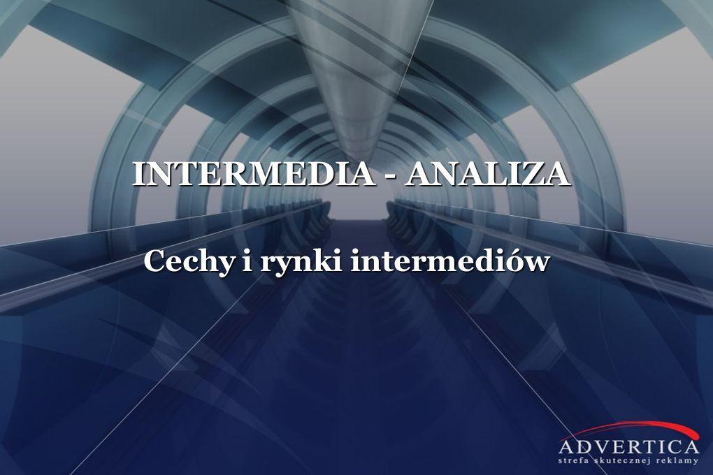 INTERMEDIA - ANALIZA Cechy i rynki intermediów