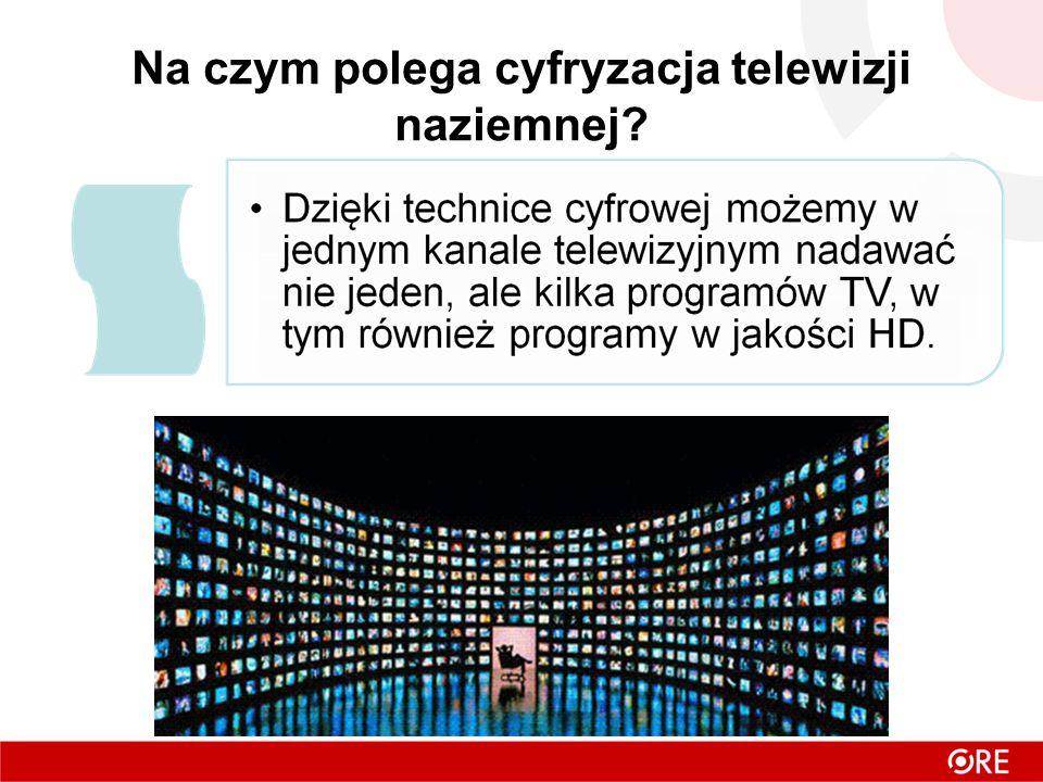Na czym polega cyfryzacja telewizji naziemnej