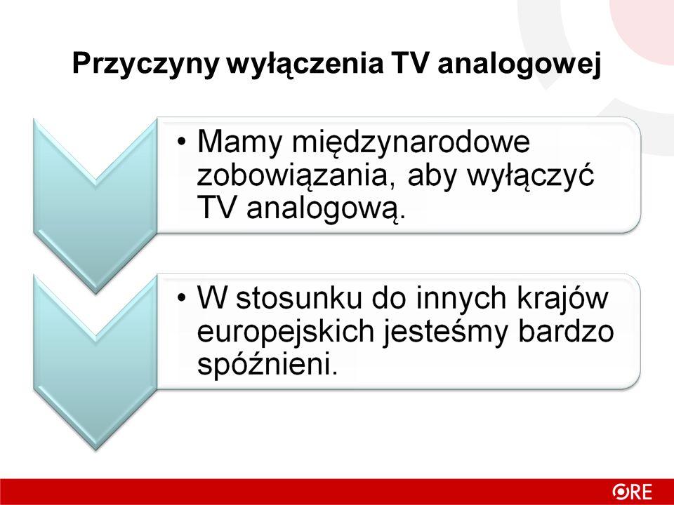 Przyczyny wyłączenia TV analogowej