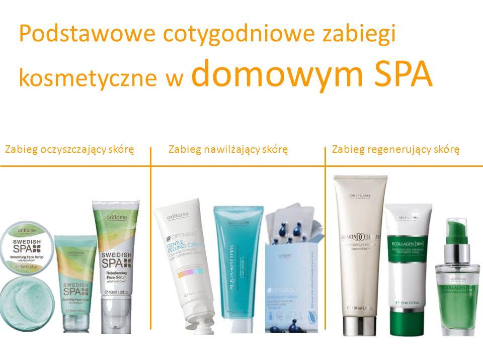 Podstawowe cotygodniowe zabiegi kosmetyczne w domowym SPA Zabieg oczyszczający skóręZabieg nawilżający skóręZabieg regenerujący skórę