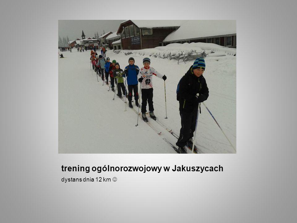 trening ogólnorozwojowy w Jakuszycach dystans dnia 12 km