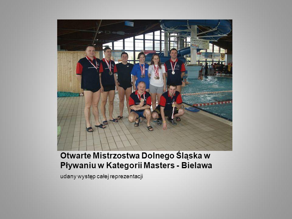 Otwarte Mistrzostwa Dolnego Śląska w Pływaniu w Kategorii Masters - Bielawa udany występ całej reprezentacji