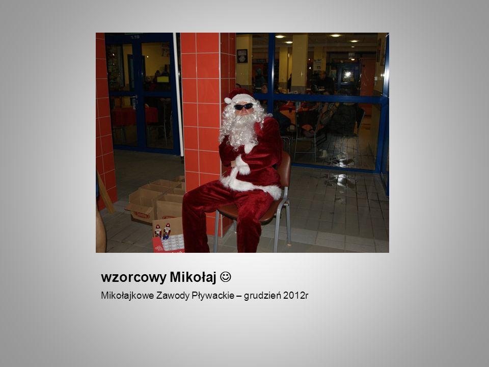 wzorcowy Mikołaj Mikołajkowe Zawody Pływackie – grudzień 2012r