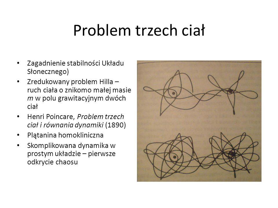 Problem trzech ciał Zagadnienie stabilności Układu Słonecznego) Zredukowany problem Hilla – ruch ciała o znikomo małej masie m w polu grawitacyjnym dw