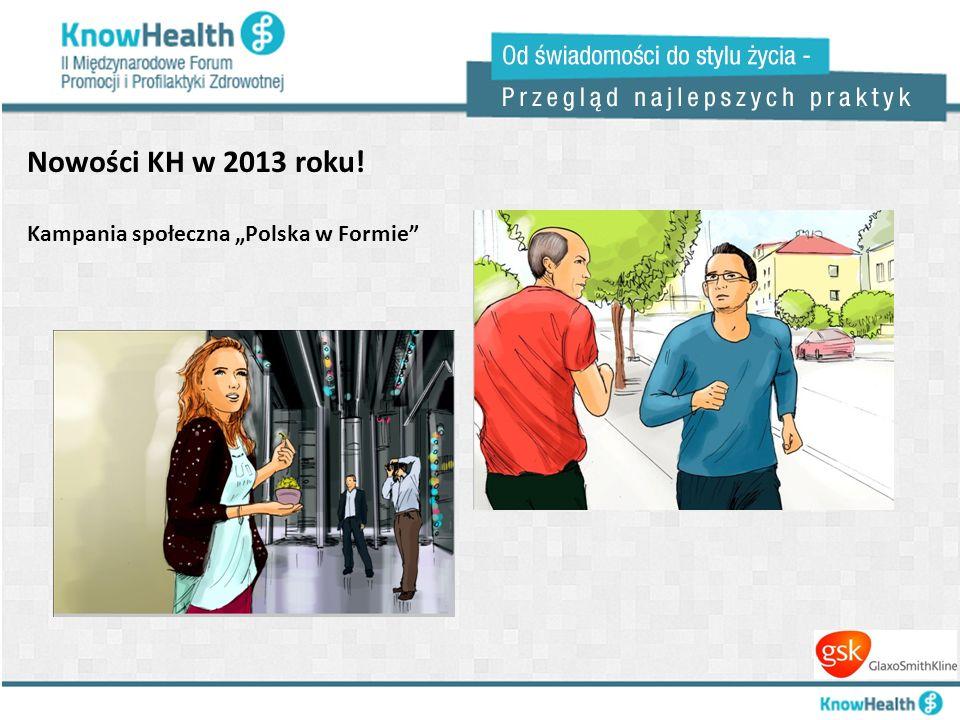 Nowości KH w 2013 roku! Kampania społeczna Polska w Formie